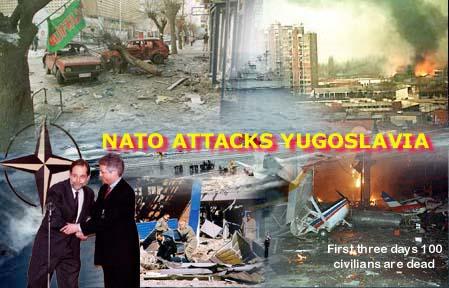Estratégia da Otan lembra ataques à ex-Iugoslávia